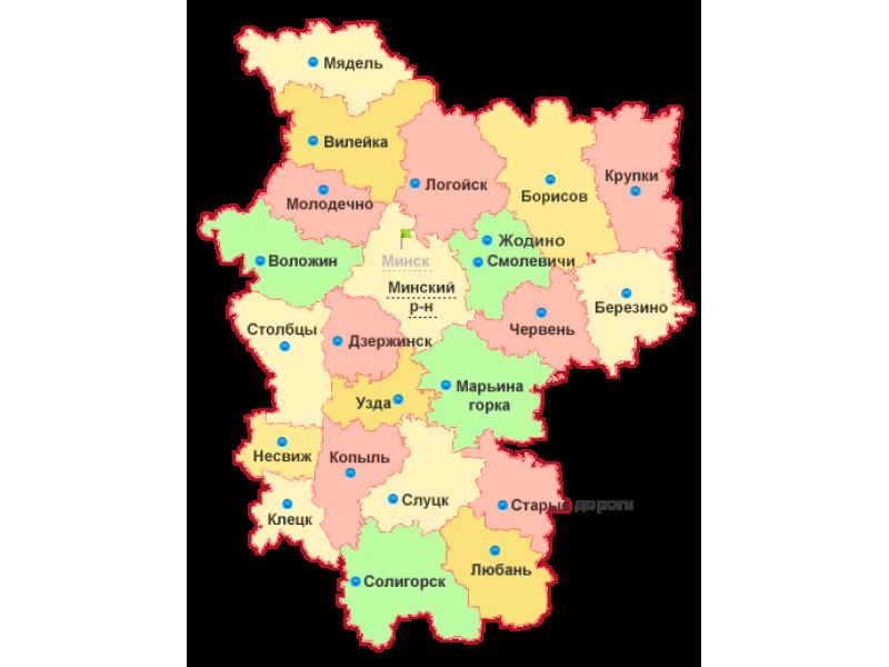 География Борисовщины